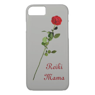 Red Rose Reiki Mama design iPhone 8/7 Case