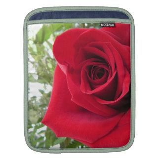 Red Rose Rickshaw iPad Sleeve