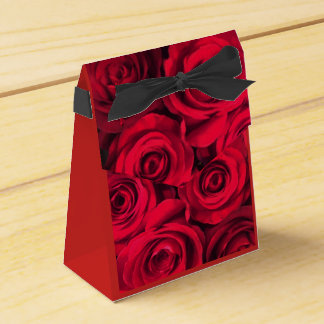 Red Rose Romance Party Favour Box