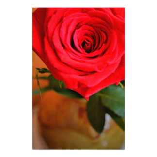 Red Rose Stationery Design