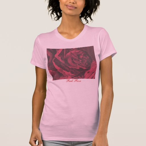 Red rose t t-shirt