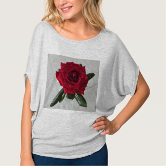 Red Rose Tee