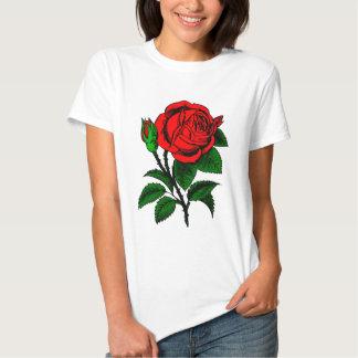 Red Rose Tee Shirt