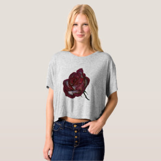 Red Rose Top T-Shirt