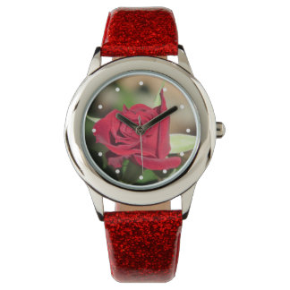 Red Rose Wristwatch