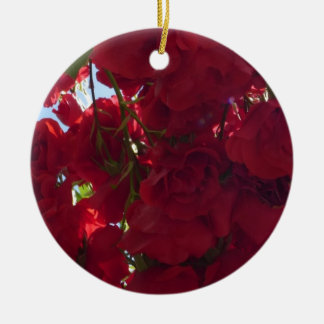 Red Roses 04 Christmas Ornament