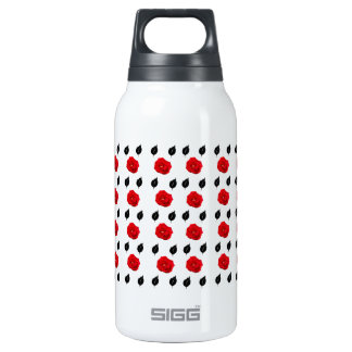 Red Roses and Black Leaves 0.3 Litre Insulated SIGG Thermos Water Bottle