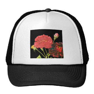 Red Roses and Bud Hats