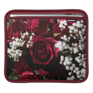 Red roses bouquet close up sleeve for iPads