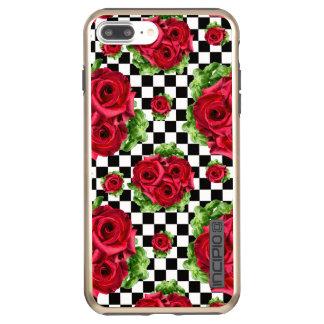 Red Roses Bouquet Floral Love Rockabilly Incipio DualPro Shine iPhone 8 Plus/7 Plus Case
