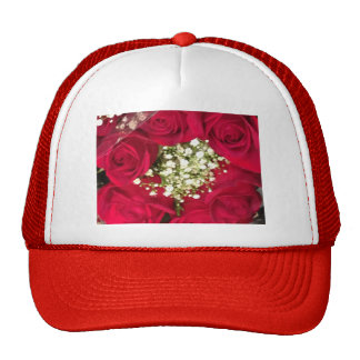 Red Roses Hats