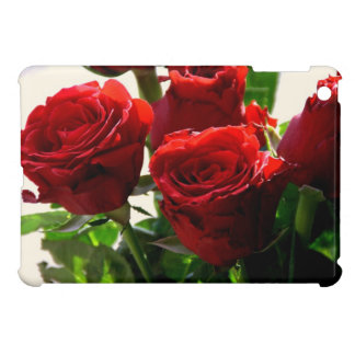 Red roses case for the iPad mini