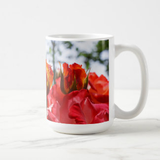 Red Roses Coffee Mugs Christms Holidays Rose