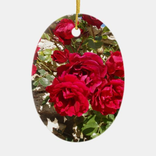 Red Roses Ornaments