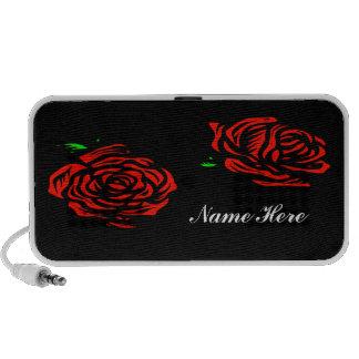 Red Roses Doodle Speaker