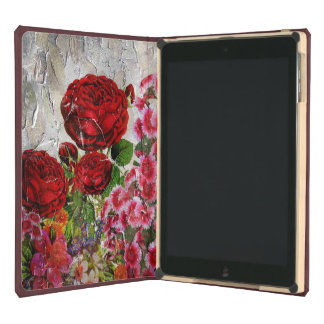 Red Roses Flower Garden iPad Air Cover