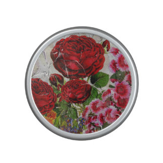 Red Roses Flower Garden Speaker