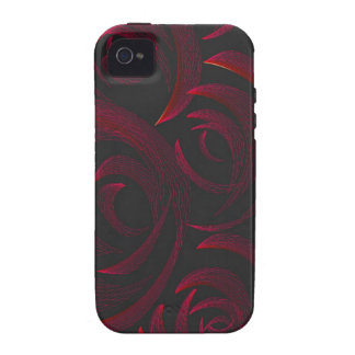 Red Roses in the Dark Case For The iPhone 4