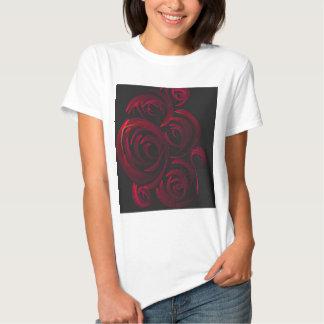 Red Roses in the Dark Tees