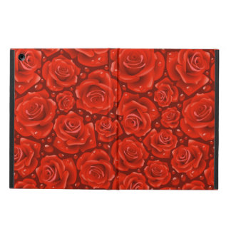 Red Roses iPad Air Case with No Kickstand
