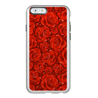 Red Roses iPhone 6/6s Feather® Shine, Silver Incipio Feather® Shine iPhone 6 Case