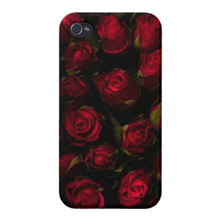 Red Roses Covers For iPhone 4