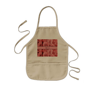 Red Roses Kids Apron