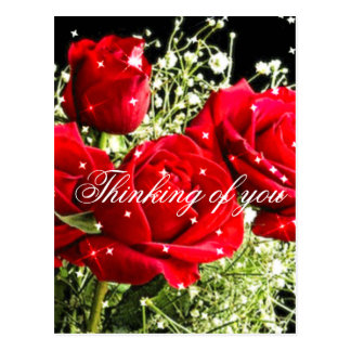Red Roses,Love_ Post Card