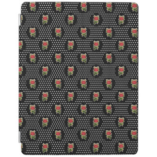 Red Roses on Polka Dots iPad Cover