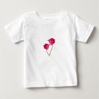 Red Roses Photo Baby T-Shirt