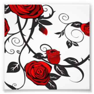 Red Roses Art Photo