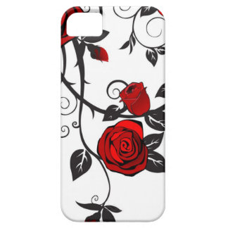Red Roses Scrolling Vine iPhone 5/5S Cover