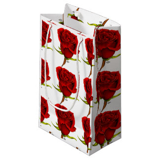 Red Roses Small Gift Bag