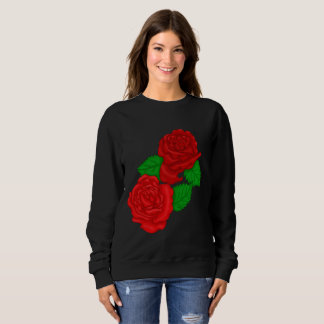 Red Roses Sweatshirt