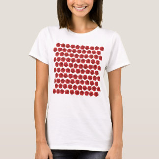 Red roses T-shirts