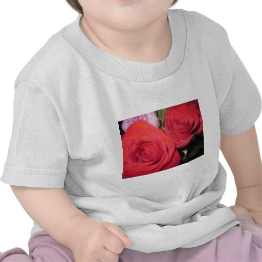 Red Roses Tee Shirts