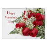 Red Roses Valentine Card