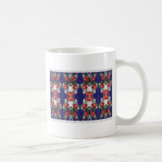 Red Ruby Imitation Jewel Pattern KIDS Girls HAPPY Coffee Mug