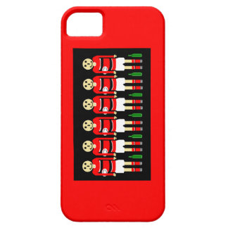 """ RED RUGBY PHONE CASE"" iPhone 5 CASES"