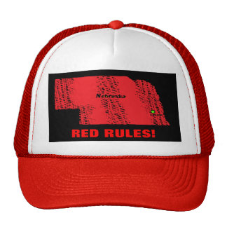 RED RULES! TRUCKER HAT
