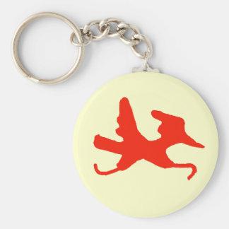 Red Runner Keychain