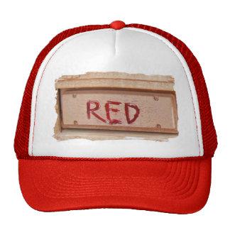 Red rustic ute tailgate tail light cap