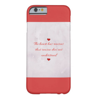 Red Saint Valentine's Day Barely There iPhone 6 Case