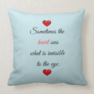 Red Saint Valentine's Day Cushion