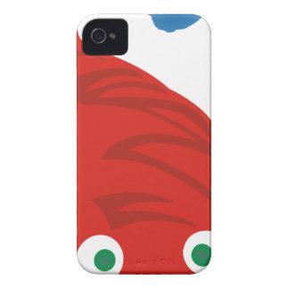 Red Salamander iPhone 4 Cover