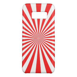 Red Samsung Galaxy S8, Barely There Phone Case