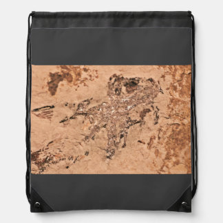 Red Sand With Rough Look Backpacks