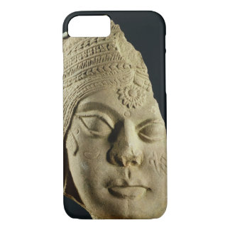 Red sandstone head of Yakshi, Bharhut, 2nd century iPhone 7 Case