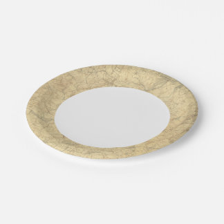 Red Sandstone, New Jersey 2 7 Inch Paper Plate