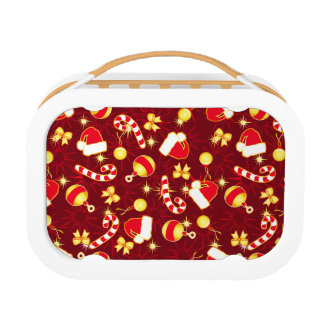 Red - Santa's cap Lunch Box